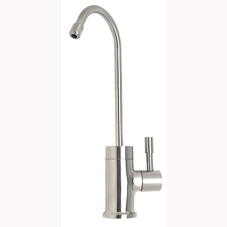 Mountain Plumbing 630NLBRN Point Of Use Drinking Faucet, Brushed Nickel