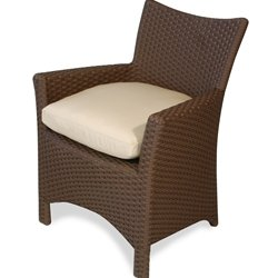 Amazon.com: Biscayne Dining Chair - Wicker Patio Furniture: Patio ...