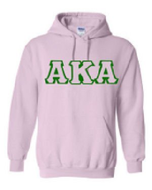Alpha Kappa Alpha Hooded Sweatshirt (Size Small)