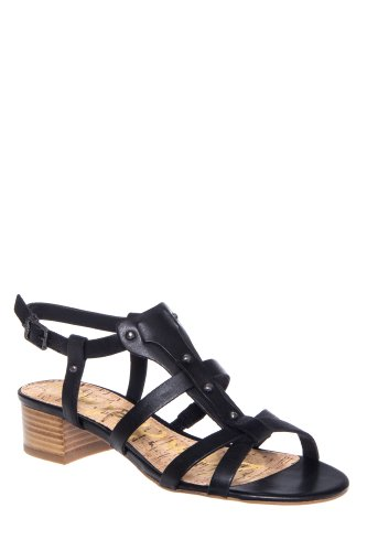 Angela Chunky Low Heel Gladiator Sandal