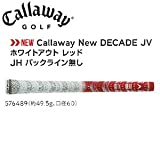 キャロウェイ(Callaway) New DECADE JV ホワイトアウト レッド JH バックライン無 ウッド&アイアン用グリップ【49.5±2g】