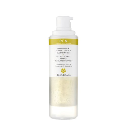 Ren Mayblossom T-Zone Control Cleansing Gel-5.07 oz