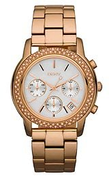 DKNY Glitz Mother-of-Pearl Dial Women's Watch #NY8432