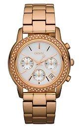 DKNY Glitz Mother-of-Pearl Dial Women's Watch #NY8432
