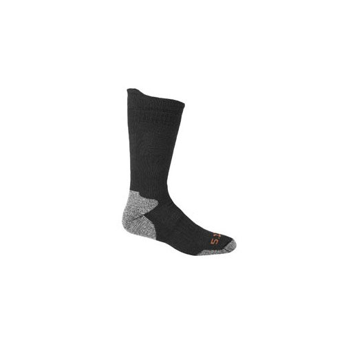 5.11 Tactical 10012 Adult'S Cold Weather Crew Sock Black Small/Medium
