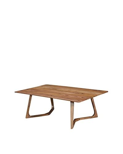 CDI Furniture Metropolitan Collection Coffee Table, Brown