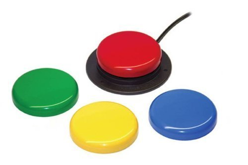 School Specialty Activation Surface Jelly Bean Twist Switch, 2-1/2 in, Assorted Color (Jelly Bean Switch compare prices)