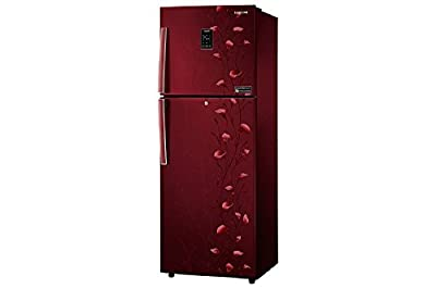 Samsung RT27JSMSARZ/TL Frost-free Double-door Refrigerator (253 Ltrs, 3 Star Rating, Tender Lily Red)