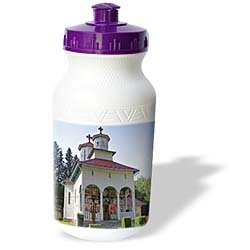 VWPics Romania - Dormition of the Virgin Romanian Orthodox Church, Sovata, Mures County, Transylvania, Romania - Water Bottles