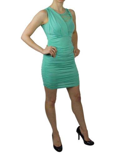 LnLClothing Flower Lace Sleeveless Dress ID.MD169-RD.56A