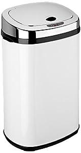 dihl poubelle automatique rectangulaire blanc 30 l cuisine maison. Black Bedroom Furniture Sets. Home Design Ideas