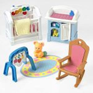 Fisher Price Loving Family Dollhouse Sparkling Symphony Nursery 2001