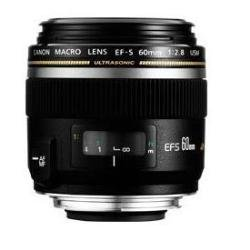 Canon EF-S 60mm f/2.8 USM Macro Lens - non Image Stabilised