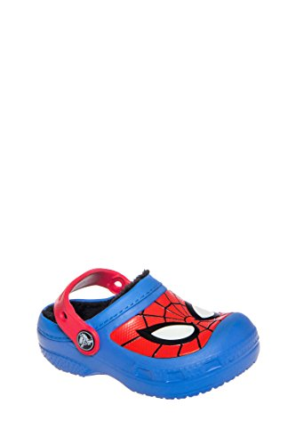 Boy's Spiderman Fuzz Lined Clog