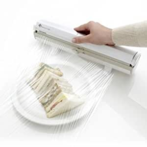 Wrapmaster Cling Film & Kitchen Foil Dispenser & Cutter (Fits Most 30cm Refills)