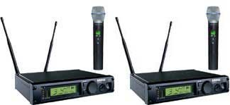 Shure Dual Wireless Microphone