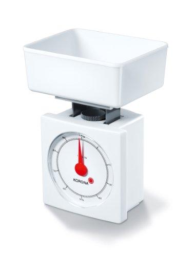 Korona 6126101 Ivo Balance de cuisine mécanique Blanc