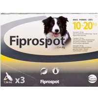 Fiprospot for Medium Dogs (Pack Size: 3 x 1.34ml Pippettes), Single Item