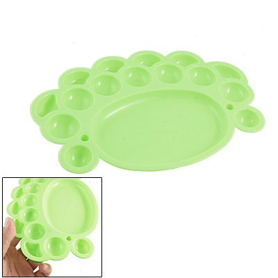 Amico Students Painting Green Plastic Dish Watercolor Palette