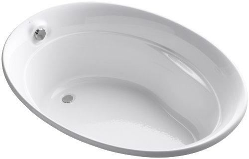Kohler K-1183-0 Serif Bath, White front-597149