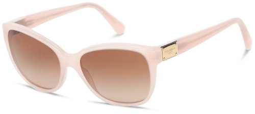 D&G Dolce & Gabbana 0Dg4195 26971356 Butterfly Sunglasses,Opal Pink,56 Mm