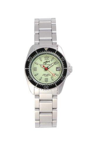 Chris Benz One Lady CBL-N-SW-MB Reloj elegante para mujeres Reloj de Buceo