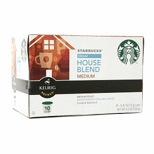 Starbucks K-Cups Decaf House Blend K-Cups House Blend, 10 Ct (Pack Of 6) front-550273