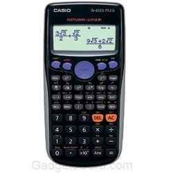 Casio FX-82ES Plus Display Scientific Calculations Calculator (Black)