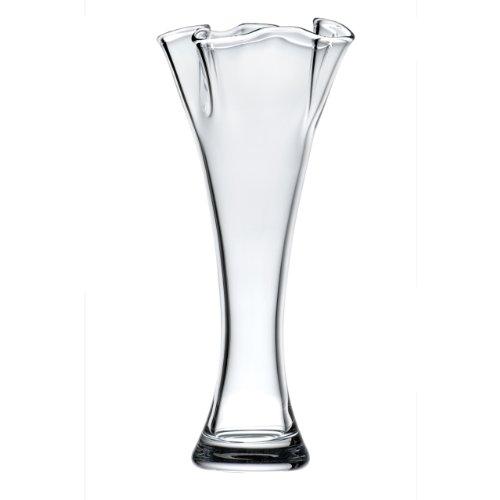 Lenox Organics Ruffle Crystal Vase, 12-Inch (Lenox Organics Crystal Bowl compare prices)