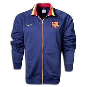 Barcelona Navy Trainer Jacket 2012/13