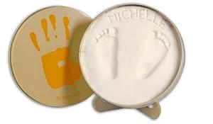 Baby Art Magic Box - Caja redonda para crear huellas de mano o pie de Dorel en BebeHogar.com
