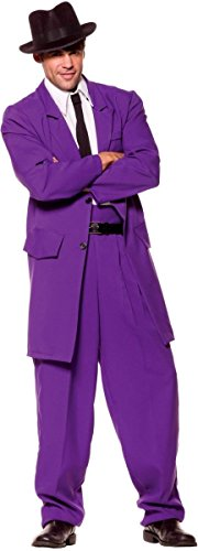Zoot Suit Adult Costume Purple