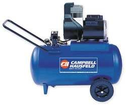 Campbell Hausfeld 1NNF5 Air Compressor, 120 V, 1.8 HP, 20 Gal Tank