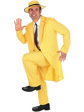 YELLO (Man With The Yellow Hat Costume Curious George)