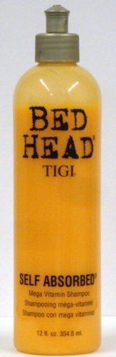 Tigi Bed Head Self Absorbed Mega Vitamin Shampoo, 12 Ounce (Pack Of 3)