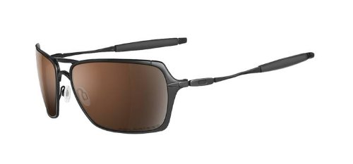 Oakley Inmate Polished Black/VR28 Black Iridium Polarized 24-117