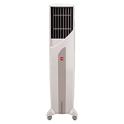 Cello Tower Plus 50-Litre Air Cooler (White/Green)