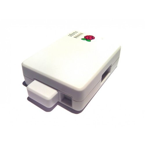 Cyntech Case With Sd Cover For Raspberry Pi - White