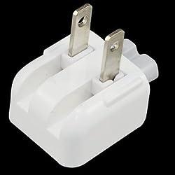 GooDGo (TM) Premium Apple Mac Ac Power Adapter Us Wall Plug Duck Head For Ibook/Iphone/Ipod