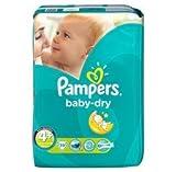 Pampers Baby Dry - Couches Taille 4+ Maxi Plus 9-20kg - Le paquet de 39