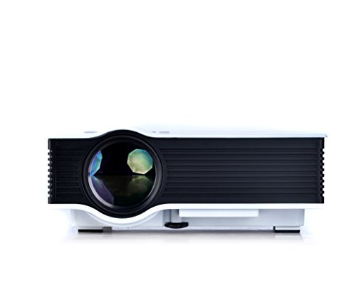 SEGURO? Multi-media Mini 800 Lumens Portable LED Projection Micro Home Theater Projector (White)