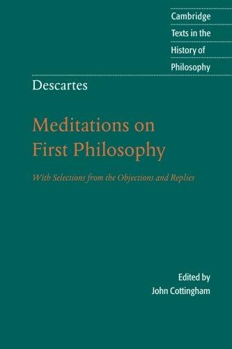 rene descartes philosophical essays correspondence summary