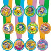 Bubble Guppies Award Medals 12 Count