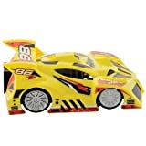 Air Hogs ゼロ グラビティ Micro - イエロー Rally Car Ch D