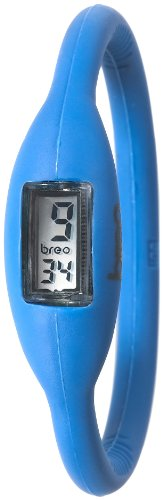 Breo Men's PU-BR10370 Sport Roam Large (18cm) Blue Rubber Watch