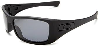 Oakley Men's Hijinx Polarized Sunglasses,Matte Black Frame/Grey Lens,one size