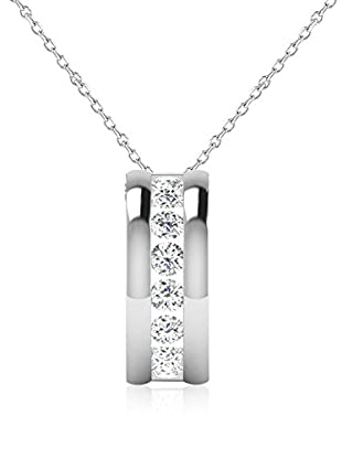 Friendly Diamonds Conjunto de cadena y colgante FDP110845Y Oro Blanco