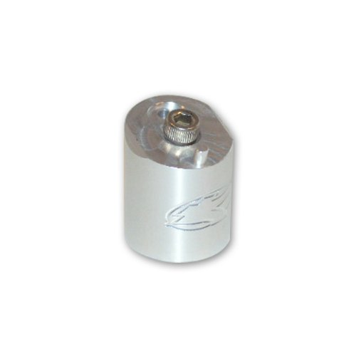 KAPP WDP Angel LCD Paintball Gun Angled Vertical ASA HPA Regulator Adapter Silver