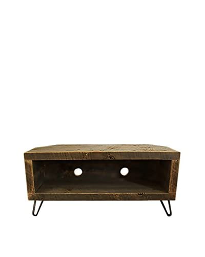 Bambeco Reclaimed Wood Media Console/Corner Unit, Natural