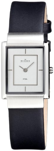 Skagen 224SSL Ladies Watch with Black Strap
